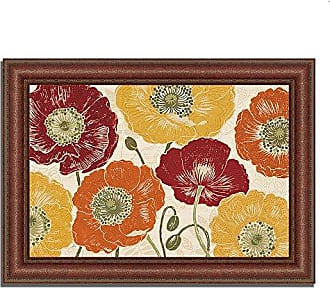 Tangletown Fine Art A Poppys Touch I Spice Framed Art Red/Yellow/Orange