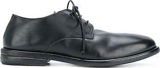 Marsèll Sapato de couro com cadarço - Preto