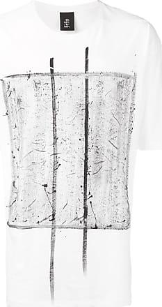 Thom Krom Camiseta oversized com estampa - Branco