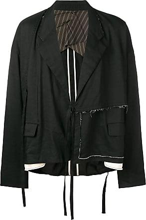 Ziggy Chen distressed blazer - Black