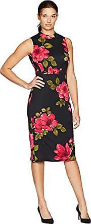 b0b3326d1f2e9 Nine West Womens Mock Turtleneck Sleeveless Sheath Dress
