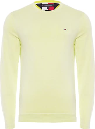 Tommy Hilfiger SUÉTER MASCULINO DOUBLE FACE CREW NECK - AMARELO
