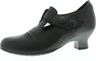 Wolky Pump Prague 3712500 Womens Shoes Black Ingrassato Black Size: 8 UK