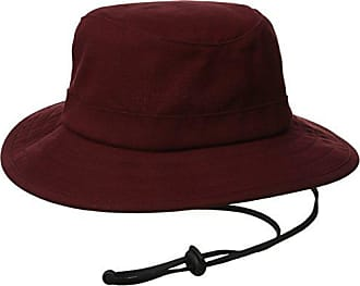 Brixton Mens Tracker Bucket Hat, Burgundy, Large