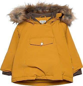 Wally Faux Fur Jacket, M Fodrad Jacka Gul
