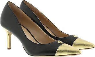 Lauren Ralph Lauren Pumps - Lanette Dress Pumps Black/Gold Rush - black - Pumps for ladies
