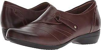 Dansko Franny (Chocolate Burnished Calf) Womens Shoes