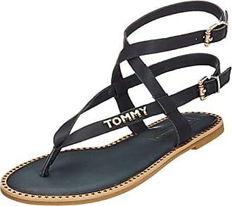 Damen Tommy Hilfiger Sandalen Blau Preisvergleich