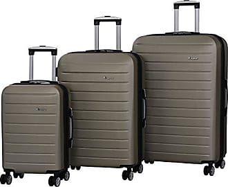 IT Luggage IT Luggage Legion 3-Piece 8-Wheel Hardside Expandable, Gold