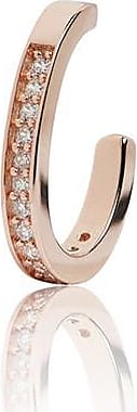 Sif Jakobs Jewellery Ear cuff Simeri - 18k rose gold plated with white zirconia