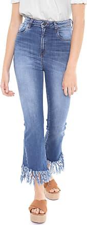 Dress To Calça Jeans Dress to Skinny Desfiada Azul