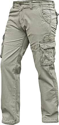 Alpha Industries Jet Pant Cargo Hose bone white, Größe 29