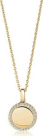 Sif Jakobs Jewellery Anhänger Follina - 18K vergoldet mit weißen Zirkonia