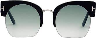 Tom Ford Eyewear Óculos de Sol Redondo Preto - Mulher - 55 US