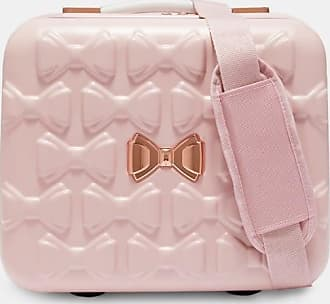 Ted Baker Bow Detail Vanity Case in Pink EVLINA, Tech