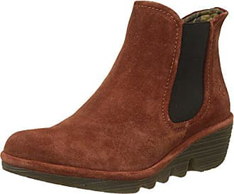 FLY London Womens Phil, Brick Oil Suede, 41 M EU (10-10.5 US)