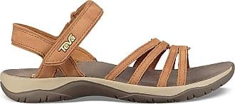 Teva Elzada Sandal Lea, Women Open Toe Sandals, Brown (Pecan Pec), 3 UK (36 EU)