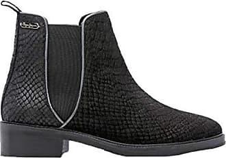 Pepe Jeans London Damen Stiefel   Stiefeletten, Schwarz - Schwarz - Größe   ... e07ed80edb