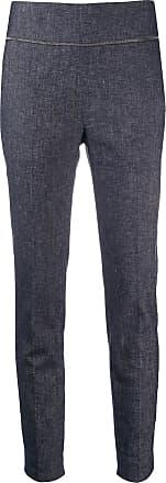 Fabiana Filippi high rise skinny fit trousers - Blue