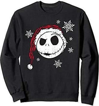Disney Jack Skellington Snowflakes Sweatshirt