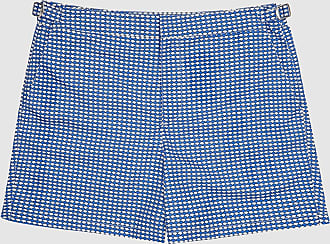 Reiss Eclipse - Printed Swim Shorts in Blue, Mens, Size XXL