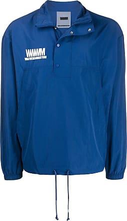 WWWM - What We Wear Matters Blusa com logo - Azul