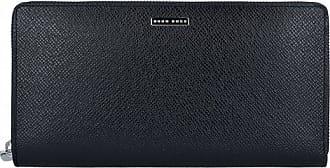 HUGO BOSS Signature Portafoglio pelle 21 cm Black