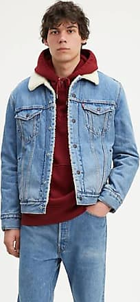 Levi's Sherpa Trucker with Jacquard by Google - Blue