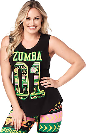 Zumba Active Backless Dance Fitness Tops Open Back Workout Tank Tops for Women, Strong Black, XL