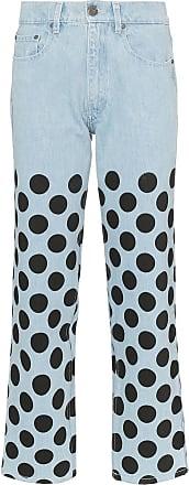 House Of Holland Calça jeans de poá - Azul
