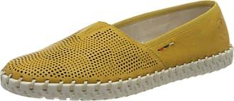 Rieker Womens Frühjahr/Sommer L1376 Loafers, Yellow (Yellow 68), 6.5 UK