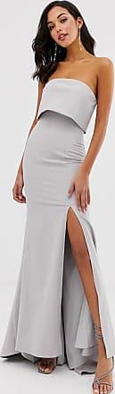 Jarlo – Maxiklänning med bandeau överdel och fishtail kjol