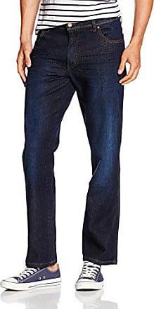 Details zu Wrangler Hose Jeans Herren Arizona Stretch Denim Blau Regular Fit Herrenhose