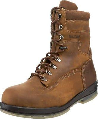 Wolverine Mens W03295 Waterproof Boot,Stone,8.5 XW US