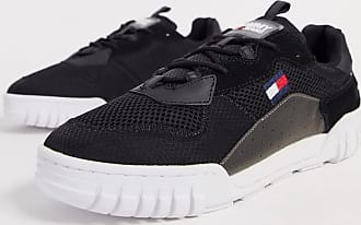 Tommy Jeans retro mesh trainers in black