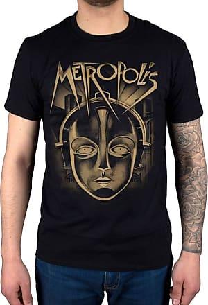 AWDIP Official Plan 9 Metropolis Face T-Shirt Black