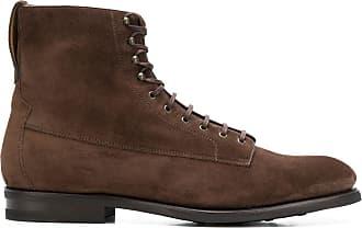 Barbanera Ankle boot de couro - Marrom