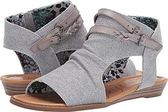 820f4ae8422f Blowfish Blumoon (Smoke Rancher Canvas) Womens Sandals