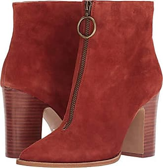 Chinese Laundry Womens Satine Ankle Boot, Rust Suede, 7 M US