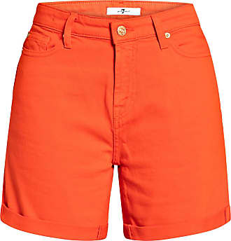 7 For All Mankind Jeans-Shorts - COLORED COMFORT STRETCH RED