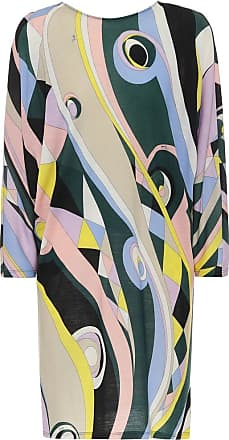 Emilio Pucci Printed wool-blend jersey minidress