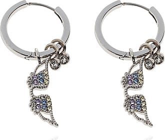 Zadig & Voltaire Earrings With Pendants Womens Silver
