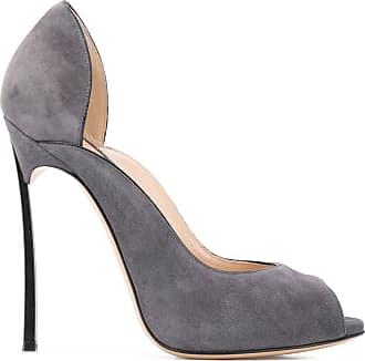 Casadei Blade peep-toe pumps - Grey