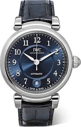 IWC Da Vinci Automatic 36mm Stainless Steel And Alligator Watch - Silver