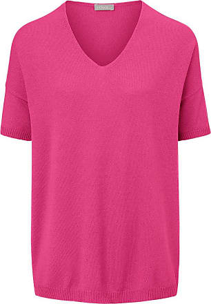 include V-Pullover aus 100% Premium-Kaschmir include pink