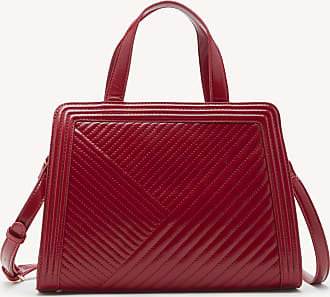 Sole Society Womens Aisln Satchel Vegan In Color: Red Bag Vegan Leather From Sole Society