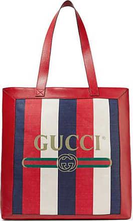 a40f9e0fcb67 Gucci Sac À Main En Toile À Rayures Et À Finitions ...