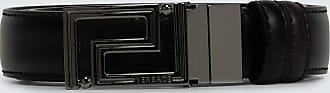 Versace Logo leather belt