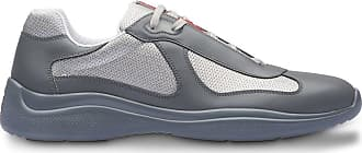 Prada technical fabric sneakers - Cinza