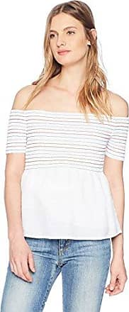 GUESS Womens Off The Shoulder Alyx Top
